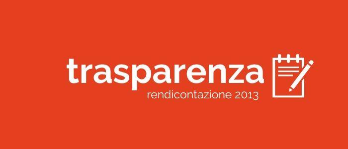 Trasparenza: gettoni anno 2013