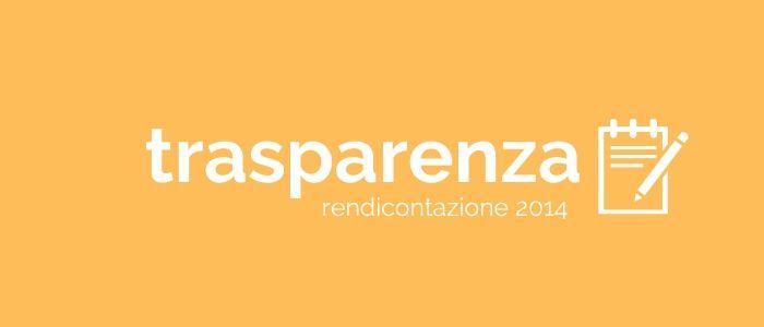 Trasparenza: gettoni anno 2014